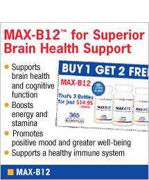 MAX-B12 for Superior Brain Health Support