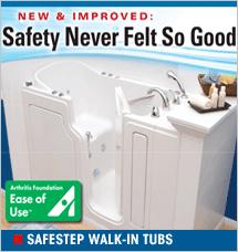 SafeStep Walk-in Tubs