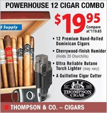 Powerhouse 12 Cigar Combo