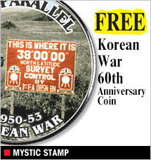 Mystic Stamp - Free 60th Anniversary Korean War Stamp