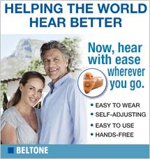 Beltone Hearing Aid- Free Sample