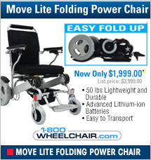 Move Lite Folding Power Chair