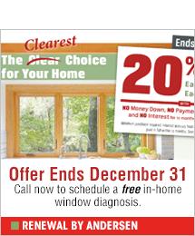 Renewal by Andersen - windows and patio doors