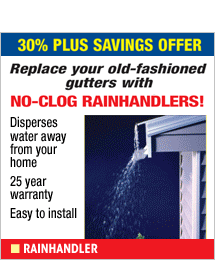 RainHandler - never clean your gutters again