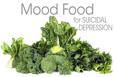 Mood Food for Suicidal Depression